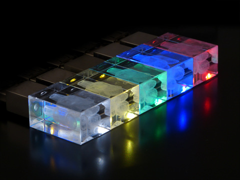 Crystal USB flash drive (1)