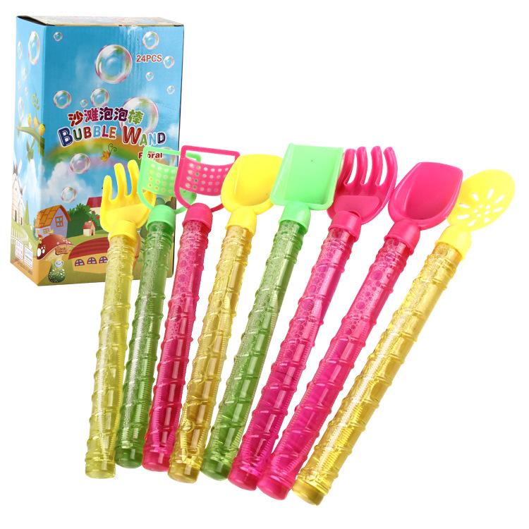 夏季多款可选28cm沙滩泡泡棒 广场公园热卖地摊泡泡玩具厂家批发