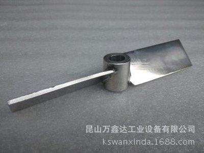直径100 内孔12mm 304不锈钢材质一字型搅拌叶轮