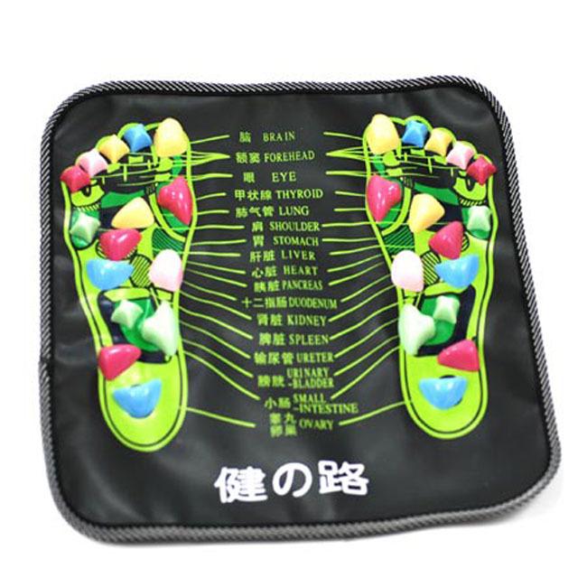 正品健康之路鹅卵石路脚底穴位按摩垫 健身足底按摩垫批发