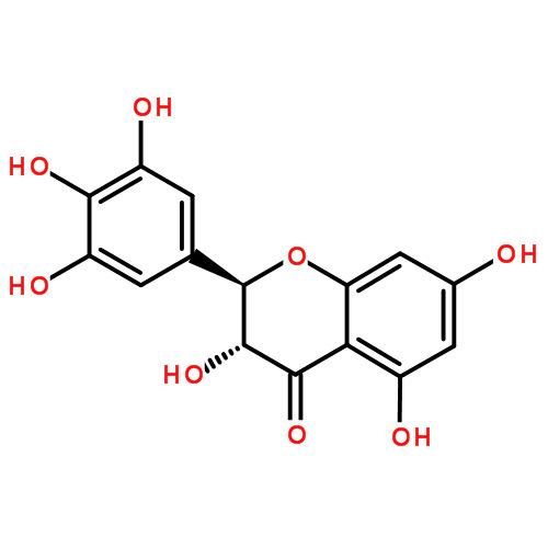二氢杨梅素 分子式