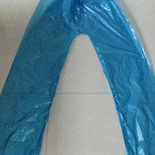 生產供應 特厚非一次性帽繩松緊口分體雨衣5絲 勞保塑料分體雨衣