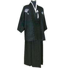 舞臺演出服裝古裝日本武士服拍照寫真服裝男士日本和服日本正裝
