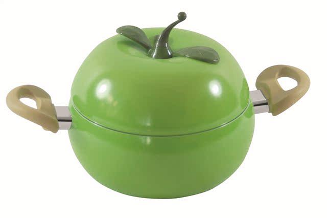 quà tặng các nhà sản xuất sáng tạo mô hình nồi nồi nổ bán buôn với nhôm nồi đáy đôi với tai nồi súp cà chua Hầm