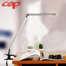 厂家直销CEP创意led护眼学习台灯触摸折叠夹子台灯学生护眼灯批发