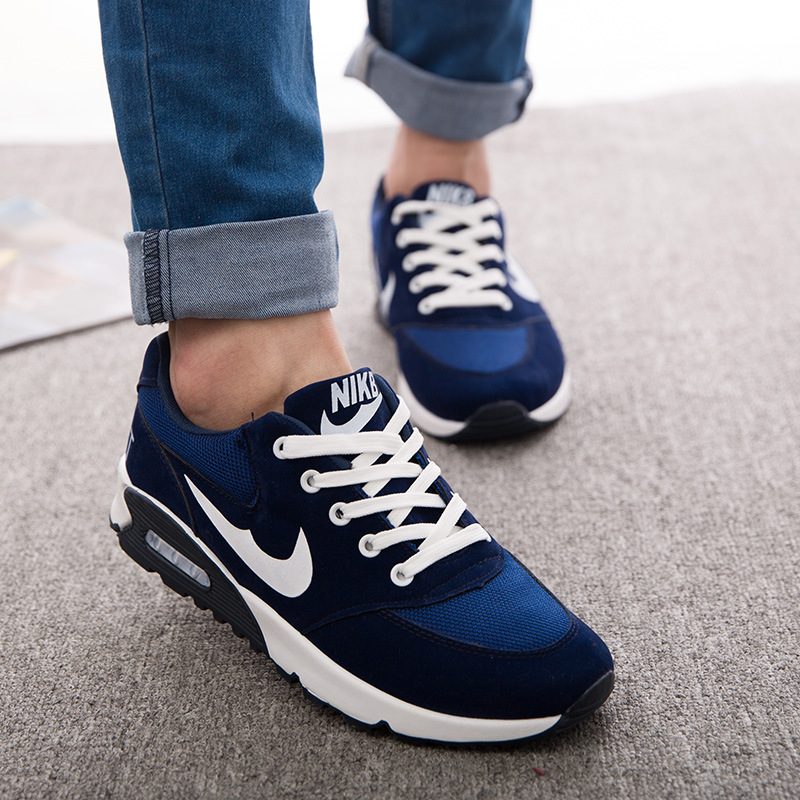 New 2015 Fashion Mens Casual High Top Sneakers Athletic Running Shoes // **
