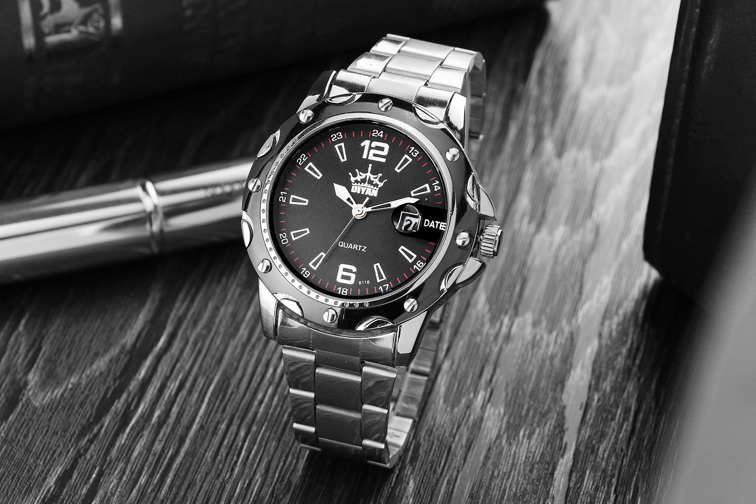 HOT Sale Business Mens Classic Wrist Watches Brand Name ...