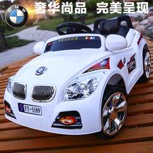 寶馬兒童電動車四輪雙驅藍牙遙控汽車可坐寶寶電瓶童車 電動汽車