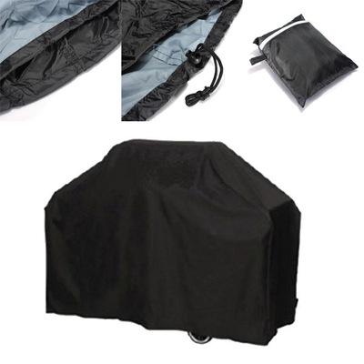 跨境专供 亚马逊热卖 BBQ Cover 户外烧烤罩 防雨防尘防紫外线 黑