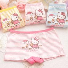 可愛兒童內褲全棉卡通印花寶寶嬰兒平角褲女童內衣內褲