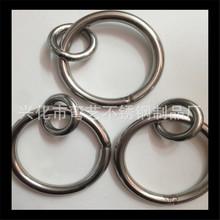【彎藝批發~~】201 304 316 定制各種 不銹鋼圓環 不銹鋼圈 O型