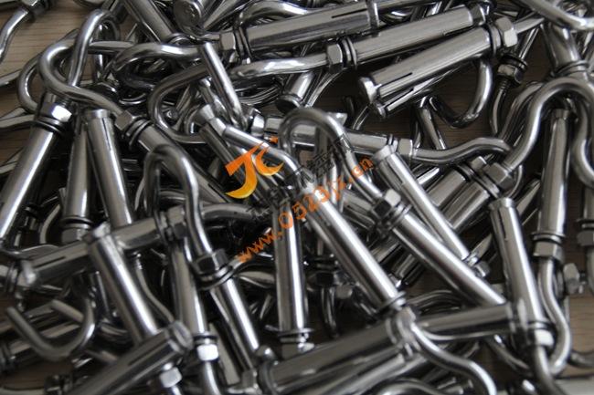 现货供应M6不锈钢膨胀钩 304膨胀挂钩 吊顶钩 膨胀螺丝