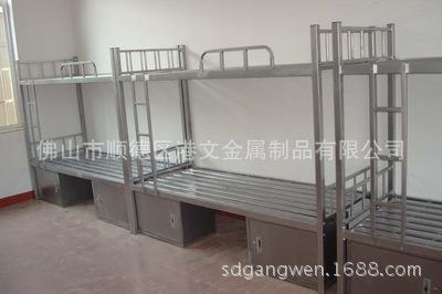 不锈钢双层床,上下铺不锈钢床定做,工厂,201、304不锈钢床