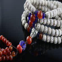 高密度干磨A+星月菩提子佛珠手鏈 正月108顆原創配飾念珠手串