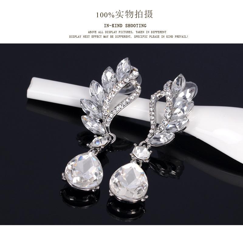 Fashion Crystal Earrings Fashion Jewelry Earrings Wholesale NHDR198229