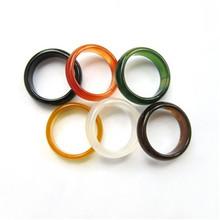 俊涛玉器 天然玛瑙戒指 玉髓指环男女士时尚饰品 玛瑙玉髓戒指