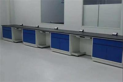 北京实验室家具 实验边台 实验室仪器台 全钢中央实验台