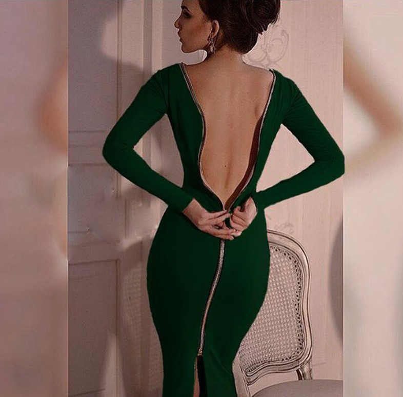 Dresses with sexy backs