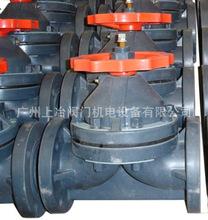 供應UPVC塑料隔膜閥 CPVC隔膜閥 耐腐蝕隔膜閥 法蘭式隔膜閥