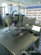 升降机头花样机 厚棉被电脑车 自动化模板缝纫机
