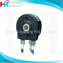 PT10西班牙電位器HK100立式 B10K 可調電位器 生產直銷 環保