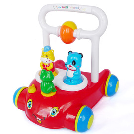 666 Baby Music Walker Baby Multi-Purpose Trolley Toddler Toy Car Jinlong Genuine