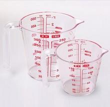 优质树脂量杯\量壶\透明度高/防酸腐三种刻度 250ml透明量杯