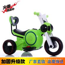 新款太空狗儿童电动车摩托车宝宝电瓶车三轮车厂家直销可一件代发