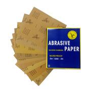 鹰牌砂纸特价批发 国产鹰牌水砂纸全粒度碳化硅打磨抛光耐水砂纸