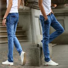 Quần jeans nam ống côn trẻ trung, thiết kế nổi bật, màu sắc nam tính