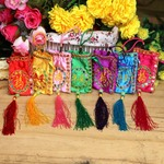 7 colors, fortune, genuine, bright piece, embroidery, Sachet, Sachet, Dragon Boat Festival, perfume bags, empty bags.