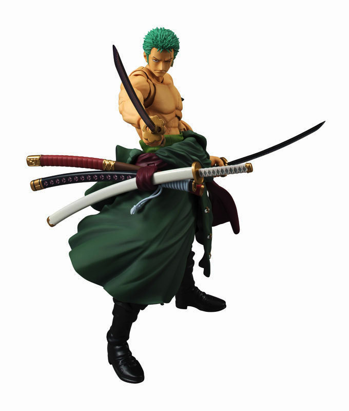 Buy Japanese One Piece Three knife flow PVC Action FiguresPVC Figure Model18CM cheap