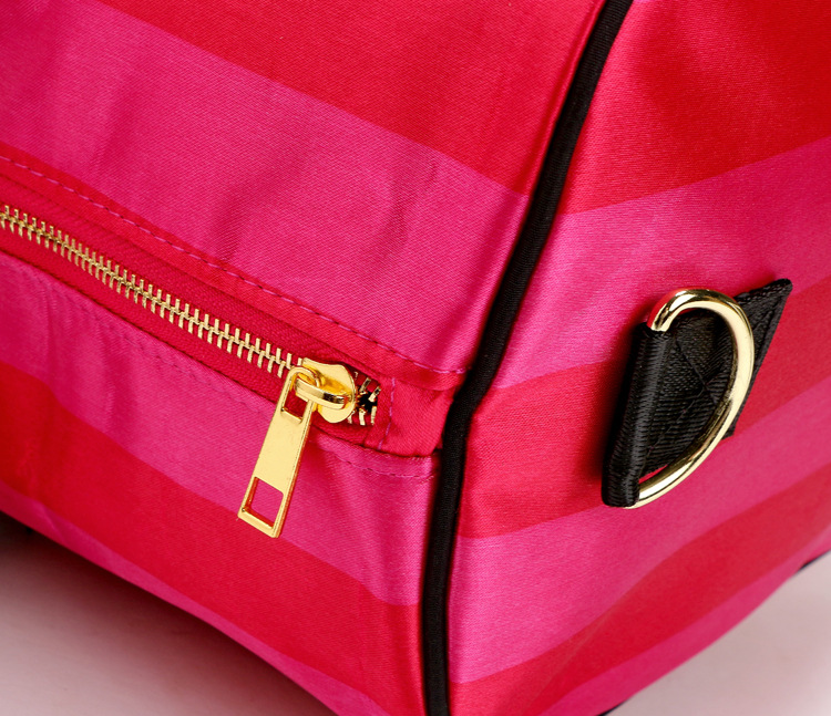 2018 Women Fashion Sexy Love Pink Handbags Barrel Shaped Large ... 9c00f73f9f