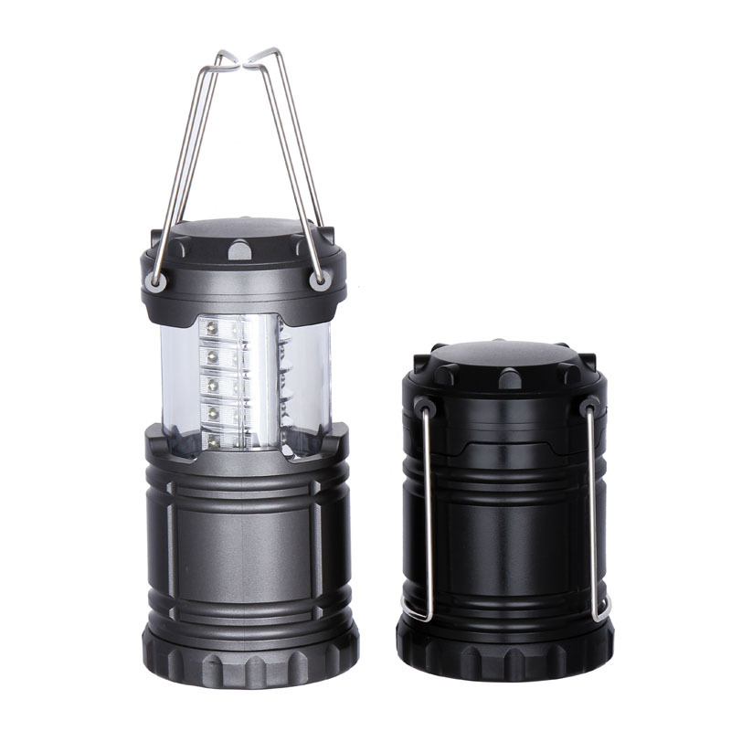30LED stretching camping lights outdoor super bright camp tent lights automatically pull small lanterns camping outdoor camping lights