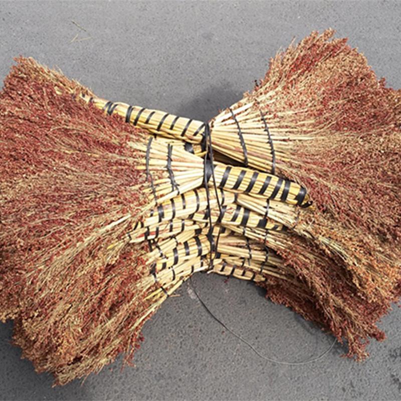 高粱扫把 手工制品  特价批发 高粱材料 无污染耐用卫生工具