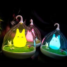 創意精靈燈LED小夜燈 創意觸控感應床頭燈鳥籠燈廠家批發