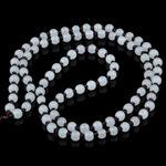 白玉圆珠子编织玉器吊坠挂绳 手工DIY和田玉翡翠挂件玉佩配绳