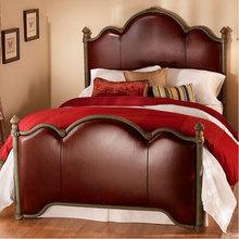 新款欧式床实木床法式家具双人床 1.8米高箱真皮公主床厂家定制