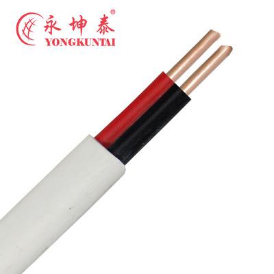 深圳直销BVVB2*6平方扁平护套电缆 绝缘单股铜芯电线裸铜外贸PVC
