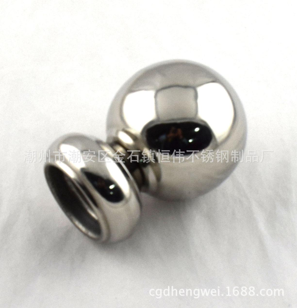 201 304连体球 球托座  不锈钢球座 楼梯球带座 扶手装饰配件