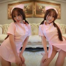 現貨DS夜店粉色性感護士裝裙舞臺裝角色扮演情趣內衣制服誘惑套裝