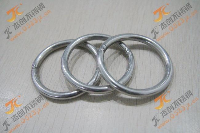 M3-M12 304不锈钢圆环/不锈钢圆圈/圆环/O型环 特殊规格可定做