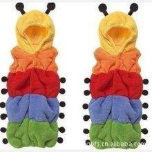 睡袋/毛毛虫睡袋/彩虹毛毛虫马甲睡袋防踢包被造型/无袖加长睡袋