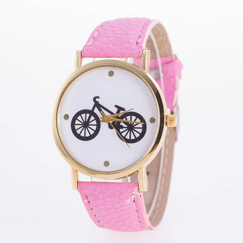fashion Ordinary glass mirrorLadies watch (9-rose red)NHMM2040-9-rose red