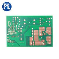 Поставка печатной платы электронных продуктов печатная плата fr-4 стекловолоконная плата 94V0 односторонний огнестойкий картон