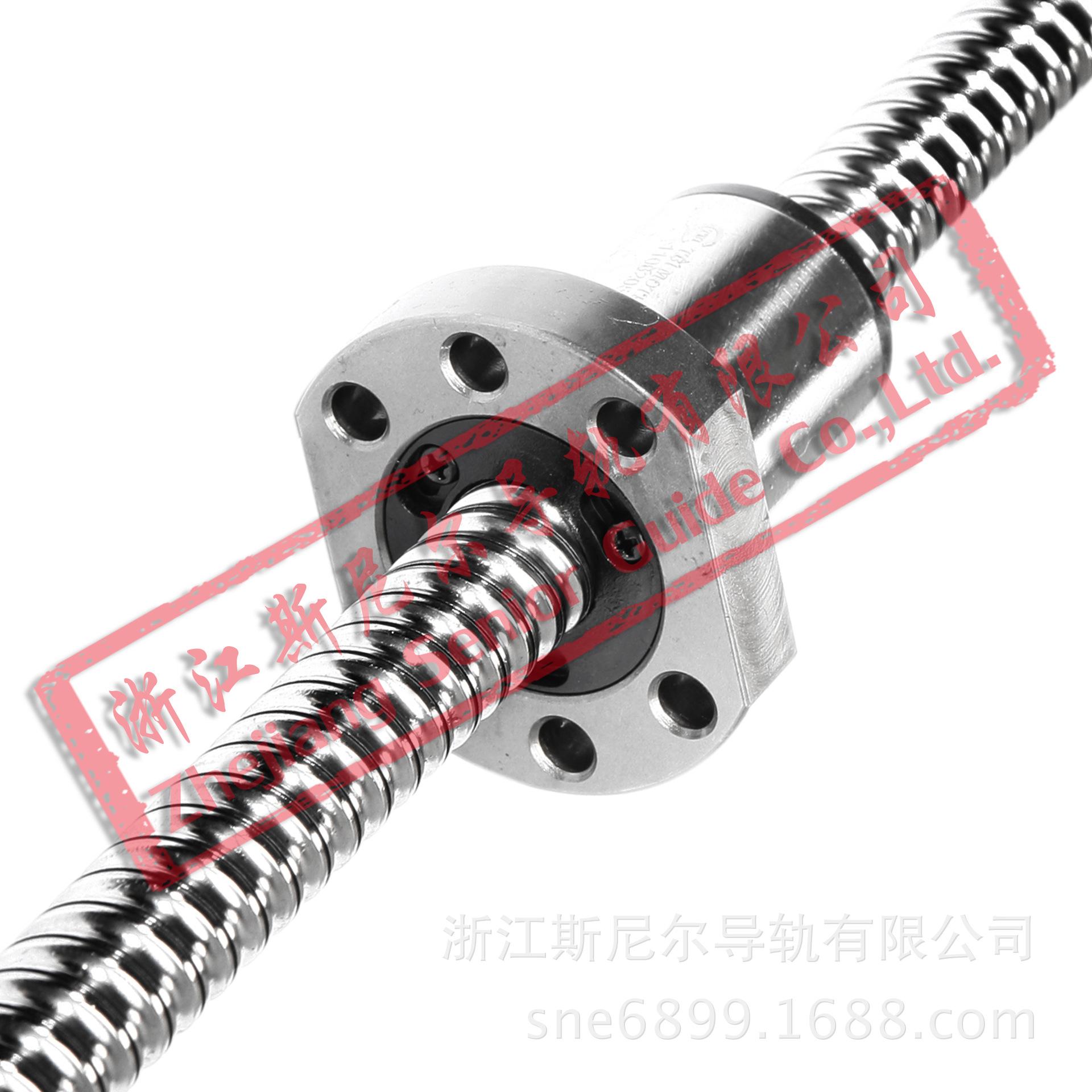滚珠丝杆副 SFS 1610 TBI 高速静音 滚珠丝杠 滚珠螺母 生产厂家