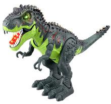 Mô phỏng đồ chơi mô hình khủng long điện Tyrannosaurus Mô hình khủng long kỷ Jura đi bộ tyrannosaurus đồ chơi giáo dục Mô hình mô phỏng