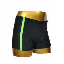 欧洲大码男士泳裤 俄罗斯外单 平角出口泳裤舒适纯色拼接一件代发