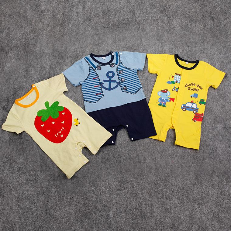 مدل های هیبریدی لباس بچگانه عمده فروشی بهار و تابستان عمده فروشی لباس نوزاد ویژه - بسته های 20 تایی