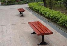 優質耐用公園椅實木長條椅休閑田園戶外實木長椅街道座椅批發